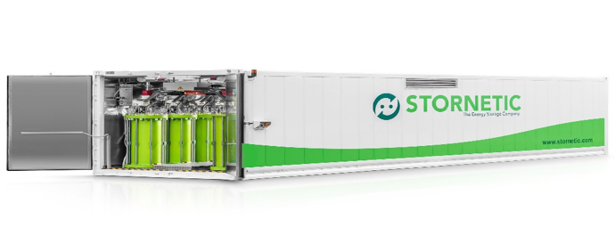 STORNETIC Energy Storage Solution for Efficient and Standard Power Services